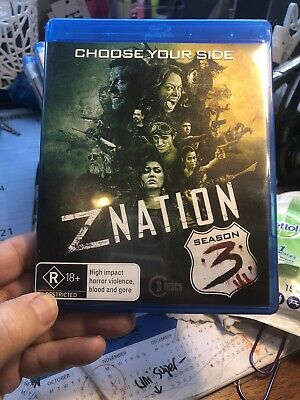AU7.99 • Buy Z NATION SEASON 3  Blu-ray DVD New 3 Disc Set