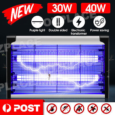 AU29.95 • Buy 40W Electric UV Mosquito Fly Insect Pest Killer Bug Zapper Trap Lamp Inoutdoor