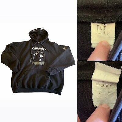 £70.82 • Buy Rare VTG Y2K Call Of Duty Black Ops Official Hoodie Sweatshirt Size L