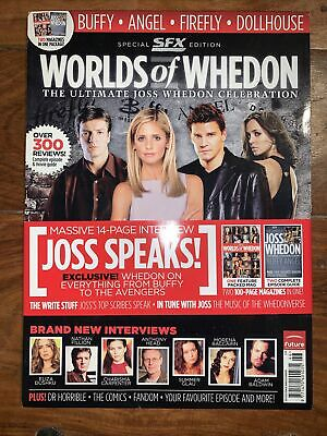 Special SFX Edition Worlds Of Whedon NEW • 2.70£