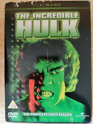 The Incredible Hulk, The Complete First Season 1977/78 • 2£