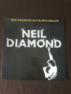 Neil Diamond 20 Golden Greats. Vintage LP. MCA. 1970s. Near Mint Condition. • 4£
