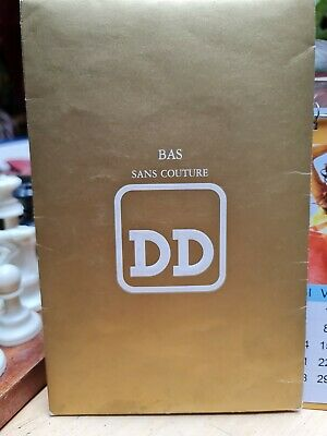 DD Gorgeous Haute Couture French RHT Nylon Stockings (T3, Muscade) BNIP • 7.50£