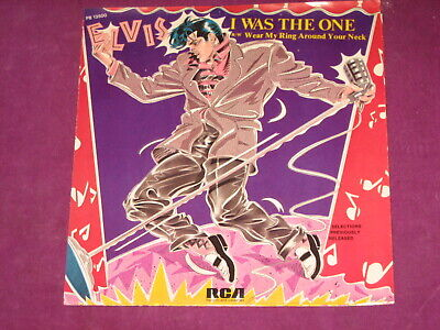 Elvis Presley - I Was The One/wear My Ring - Rca Us 1985 W/pic Sleeve - Scarce!! • 6£