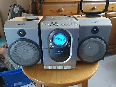 Philips MC150 Micro System Cd Player Tape Player Speakers With Remote Control  • 50£