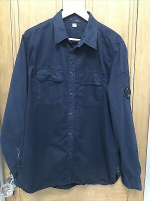 CP Company Men's Navy Shirt / Overshirt Size XL • 50£