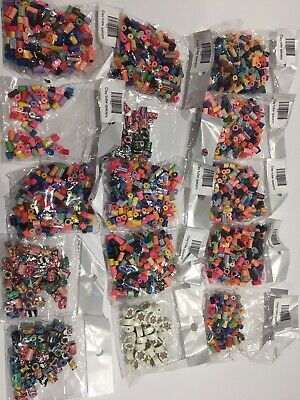 Job Lot 15 Packs Polymer Clay Beads Craft Jewellery Making Pony • 9.95£