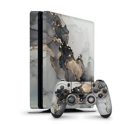 AU16 • Buy Sony PlayStation 4 PS4 Slim Pro Console Controllers Vinyl Skin Sticker Decal