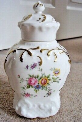 Minton  England Porcelain-china Vase With Cover ,Marlow • 35£
