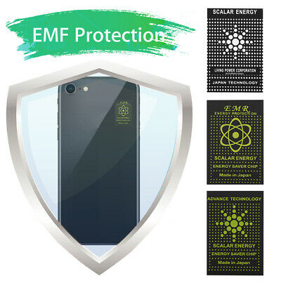 5x Anti Radiation EMR Scalar Sticker Energy EMF Protection Shield Mobile 2021 • 4.95£
