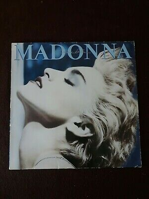 Madonna. True Blue. Vintage LP. Sire Records. 1986. Good Condition. • 2£