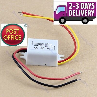 AU10.61 • Buy New Waterproof DC Converter 12V Step Down To 6V 3A 15W Power Supply Module