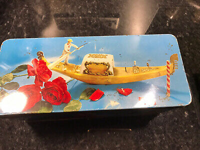 Vintage W&R Jacobs Biscuit Tin Showing Italian Items • 5£