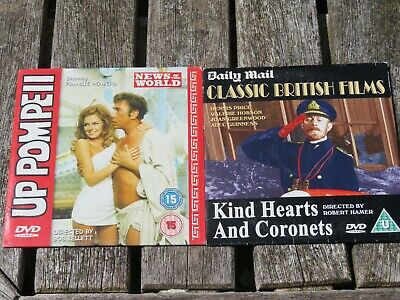 Kind Hearts And Coronets / Up Pompeii (2 Discs) • 0.69£