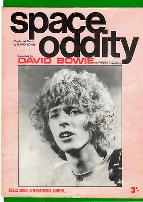 Bowie Space Oddity Music Sheet 1969 Rare  • 20£