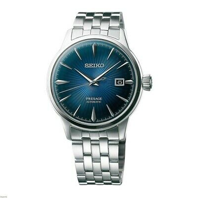 $ CDN411.32 • Buy New Seiko Presage Automatic Sunray Dial Stainless Steel Mens Watch SRPB41