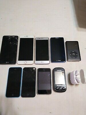 $ CDN44.51 • Buy Lot Of Cell Phones Apple Iphones, Lg, IPods & Wireless Buds. Parts/Repair