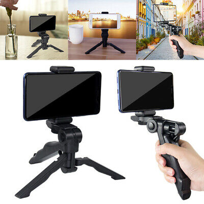 360° Universal Mobile Phone Holder Tripod Stand Grips For IPhone Camera Samsung • 5.19£