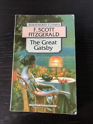 The Great Gatsby By F. Scott Fitzgerald (Paperback, 1992) • 0.99£