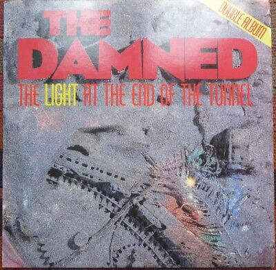 The Damned Double 12'' Vinyl LP - The Light At The End Of The Tunnel - EX+ EX+ • 5.50£