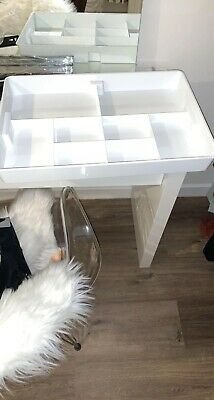 X2 White Brand New Ikea Drawer Organisers With 8 Different Sized Compartments • 10£