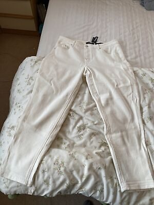 Simply Be Demi White Jeans Size 18R • 5£