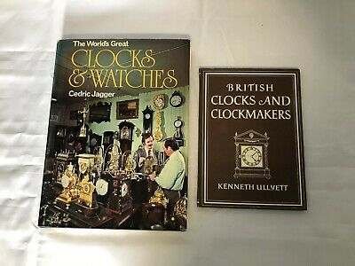 2x Vintage Clock Books World's Greatest Clocks & Watches British Clockmakers • 9.99£