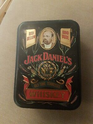 Jack Daniels Collectable Tin Old Time Tennessee Whiskey By Hudson And Scott L@@k • 6.99£