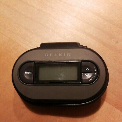 NEW Belkin TuneCast II FM Transmitter For MP3 Players (F8V3080eaBLKP) • 1.30£