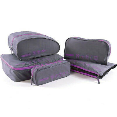 AU22.90 • Buy American Tourister Travel Accessories 5-in-1 Travel Pouch Purple 55139
