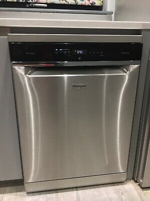 View Details Whirlpool Supreme Dishwasher WFO3P33DLXUK Standard Freestanding Stainless Steel • 399.00£