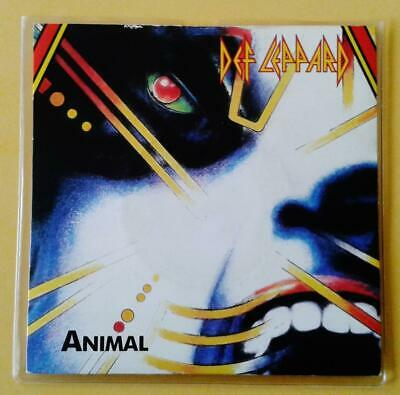 AU29.95 • Buy DEF LEPPARD Animal 7  Single Vinyl Record LEP1 - VG+