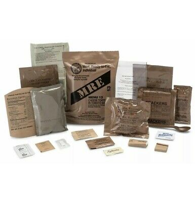 $89 • Buy 💥12ct💥 1 B Case MRE Meals Ready-to-Eat US Military Surplus 1/21-Inspect Date