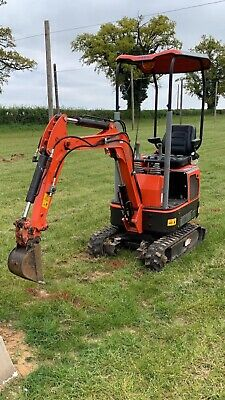 Mini Digger 1.2 Ton Excavator Yanmar 3 Cylinder Engines New With Parts Warranty • 8,695£