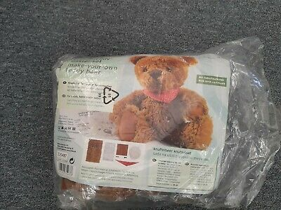 Teddy Bear Making Kit Project Complete But Not Started All Bits There. • 3.20£