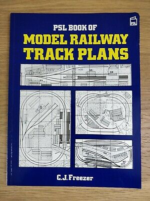 PSL Book Of Model Railway Track Plans, CJ Freezer (Paper Back - 1988) • 0.99£