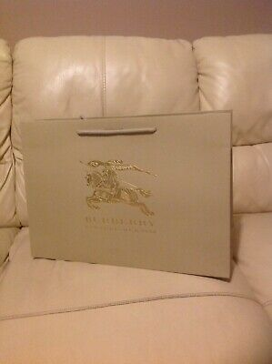 £15 • Buy BURBERRY SHOPPING PAPER GIFT BAGS EMPTY.(Set Of 10 Bags).