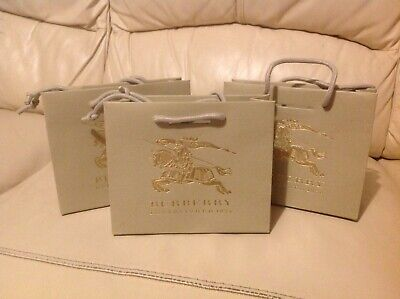 £5 • Buy Burberry Empty Brand New Gift Bags,(10 Bags In Set).