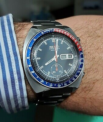 $ CDN1175.71 • Buy Vintage Seiko Chronograph Pogue 6139-6002 October 1975 Serviced