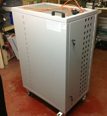 Loxit Lapcabby Laptop Charging Cabinet-mod; Loxit---nice Used Condition-used • 249.95£