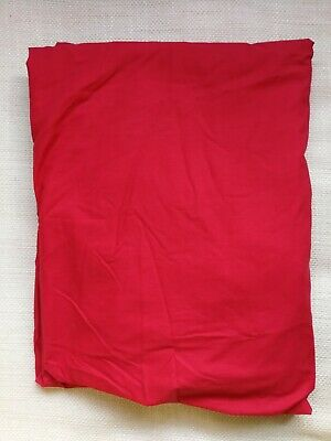 Tu Double Fitted Red Bed Sheet  • 7.99£