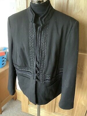 M & S Limited Collection Black Jacket Size 20 • 2.99£