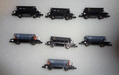 Dapol N Gauge Dogfish Wagons X 7 Unboxed Excellent • 31.09£