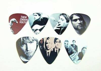 $ CDN9.99 • Buy NIRVANA Kurt Cobain Set Of 7 Collector Guitar Picks Lot