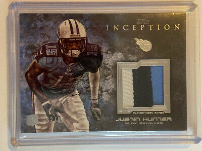 $0.99 • Buy 2014 Justin Hunter Topps Inception Rookie Patch Card.