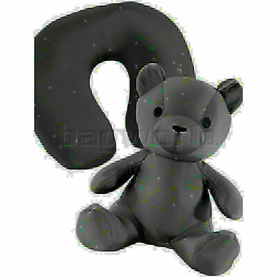 AU25.90 • Buy Samsonite Travel Accessories Travel Buddies Bear Travel Pillow Graphite 87411