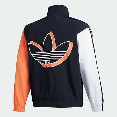 $ CDN82.02 • Buy Adidas Originals FM1537 SHADOW TREFOIL Men's Windbreaker Jacket New