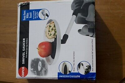 $3.99 • Buy New In Box Copco Swivel Saucer Car Cup Holder Accessory