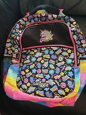 AU8.50 • Buy Smiggle Backpack Girls Rainbow Unicorn