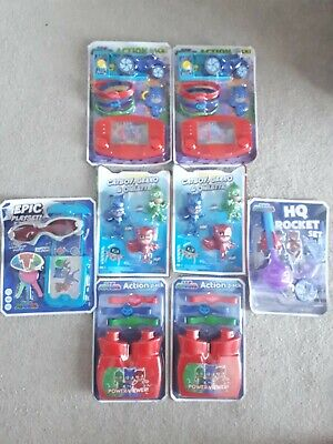 Childrens Toy Bundle PJ Masks Carboot Party Stocking Fillers NEW • 5.99£